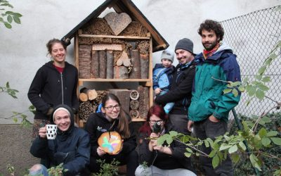 Insektenhotel – Fertigstellung!