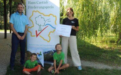Hans-Czettel-Preis für Naturschutzjugend Hörersdorf