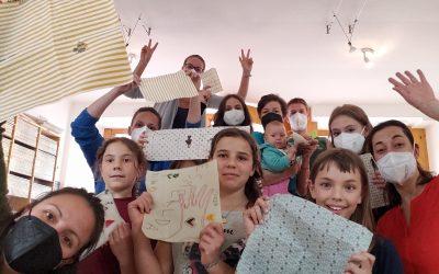 Basteln von Bienenwachstüchern bei und mit KUMANU